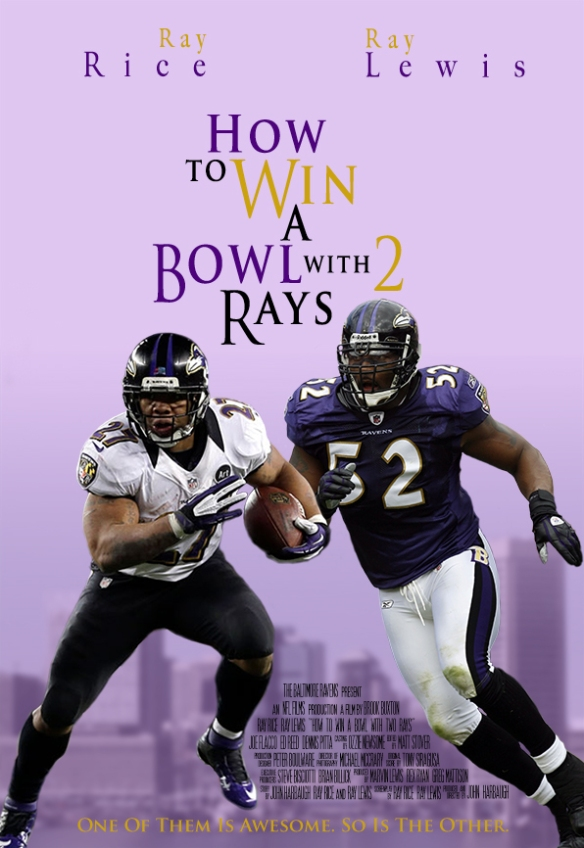 How to Win a Bowl with 2 Rays